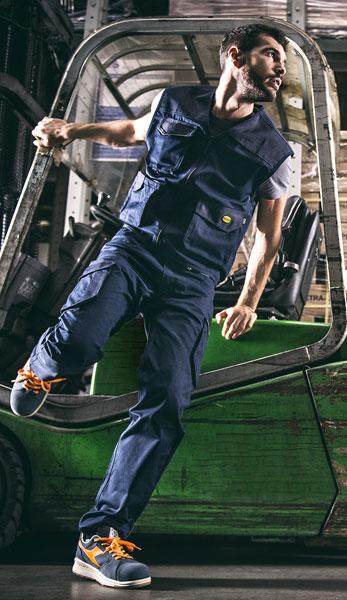 vêtements de travail professionnels et de vêtements normés