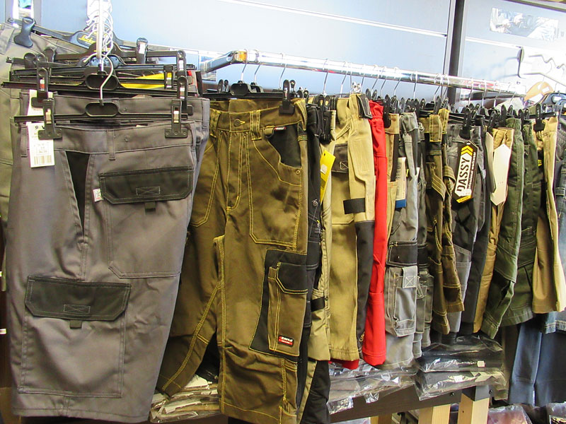 Pantalons professionnels de sécurité