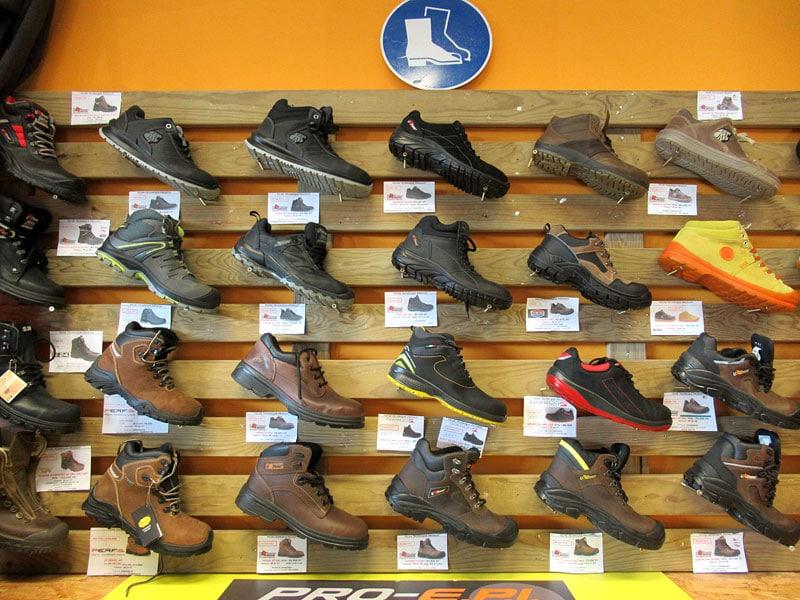 Chaussures de sécurité montantes et basses de s